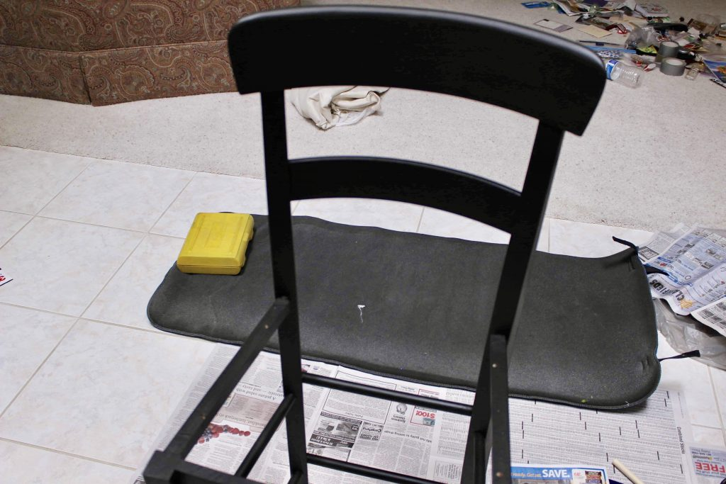 DIY BAR CHAIR MAKEOVER   Made of Lovely