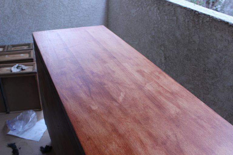 Staining veneer