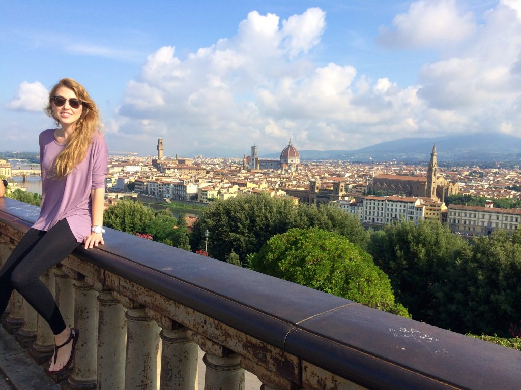 my trip to Firenze Italy