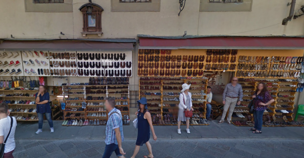 sandals in florence
