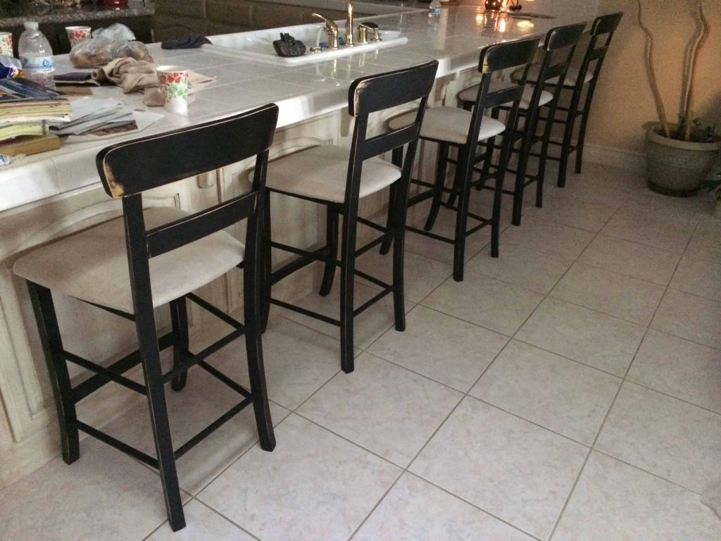 Bar Chairs Makeover   Made of Lovely
